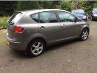 2005 SEAT ALTEA SPORT T.D.i DIESEL * * * M.O.T TO APRIL 2017 * 2 OWNERS FROM NEW* 2 KEYS