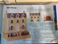 Large dolls house, furniture and accessories