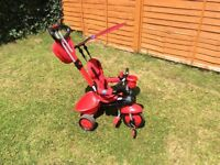 Red SmarTrike baby bike Good condition