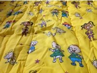 Retro rug rats sleeping bag
