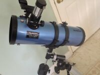 SkyWatcher Skyhawk telescope with tripod ideal Christmas present gift
