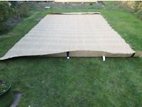 Seagrass Carpet 3.2m X 6m used once