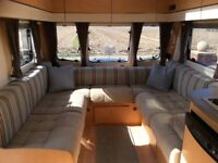 Bailey Pegasus 624, twin axle touring caravan