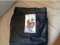 G MAC leather trousers