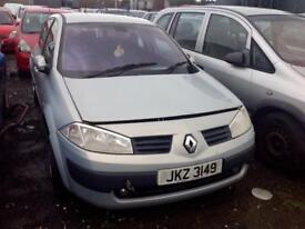 2003 RENAULT MEGANE EXPRESSION DCI 1.5 PETROL BREAKING FOR PARTS ONLY POSTAGE AVAILABLE NATIONWIDE