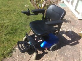 Electric wheelchair, Powerchair, Dismantles.