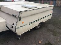 6 berth Conway Laser Trailer Tent