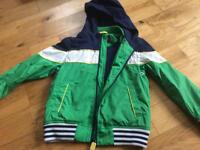 ST George by DUFFER fully lined rain jacket for aged 6