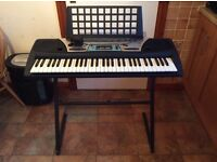 Yamaha PSR-170 multi function keyboard and stand