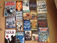 Books Military, aircraft etc