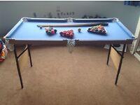 Kids portable pool / snooker tabl
