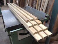 Garden bench seat slats-Full set of 12 Highly durable Iroko Hardwood timber incl Stainless bolt kit.