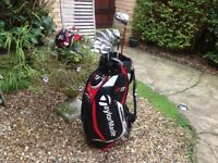 GOLF CLUBS TAYLORMADE COMPLETE SET