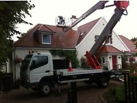 Hydraulic Platforms (Cherry Pickers) for hire.