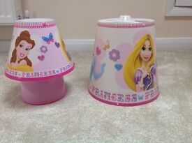 Disney Princess Bedside Lamp and Lightshade