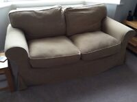 3 seater sofabed and 2 seater sofa EKTORP Ikea with spare covers