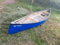 Novacraft Prospector 16 Royalex canoe.Blue.