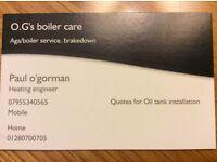 O.G's boiler care