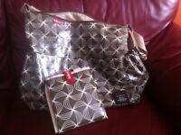 Babymel Slouchy changing bag and mat