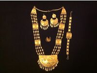 full and complete SET Necklace, earrings, bracelet, ring, Gram 110, 21 22 CT gold Jewellery