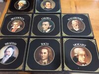 8 boxed sets vinyl records of Classical Composers