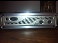 Peavey IRP 1600 Power Amp and flight case