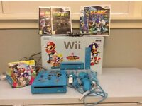 Nintendo Wii Mario and Sonic ltd edition +games