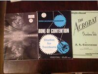 Three books of Music for Trombone