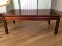 Coffee Table - Dark Wood