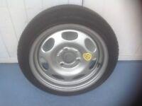 New Smart car spare wheel