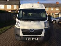 2010 Citroen relay MWB 2.2diesel. 6 speed manual. 1 year MOT
