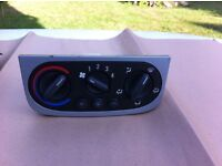 Central Dashboard Heater Control complete - Vauxhall Tigra 1.4 Sport - 2004 onwards