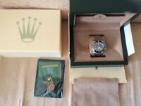 Rolex Submariner with Box and Papers (consider Offers)