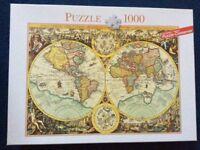 Nice map puzzle for sale, 1000 pcs