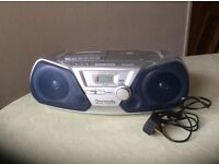Panasonic radio/cassette/CD player