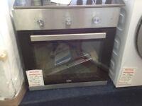 Beko intergrated single fan oven. £160 new/graded 12 month Gtee