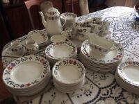 Adams (Wedgewood) Old Colonial Dinner and Tea set