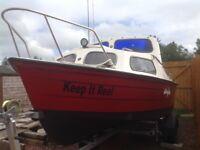 Boat Mayland 17ft cuddy