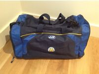 Leicester City (Sports Bag); 2 x Ladies Medium Polo Shirts (BNWT) & Matchday Collectable Programmes