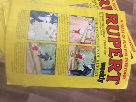 Rupert/Jack and Jill/Buttons Comics 1982-1985