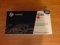HP 824A Magenta Original LaserJet Toner Cartridge (BNIB Sealed)