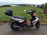 Kymco super 8 ,125.Low mileage only 900 from new and excellent condition