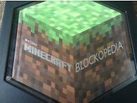 Mine craft blockpedia hardback collectable book