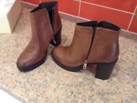 Ladies Next Leather Boots size 6