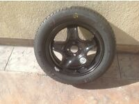 Spare wheel and tyre for Dacia Sandero Stepway