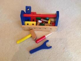 Child's wooden too. Kit