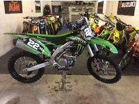 Kxf 450 2016 fresh in stunning condition mint low hours