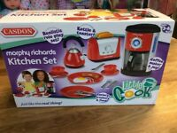 Childrens kitchen set Morphy Richards NEW