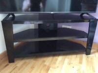 Tv stand flowers