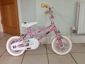 Pink Angel girls bike.